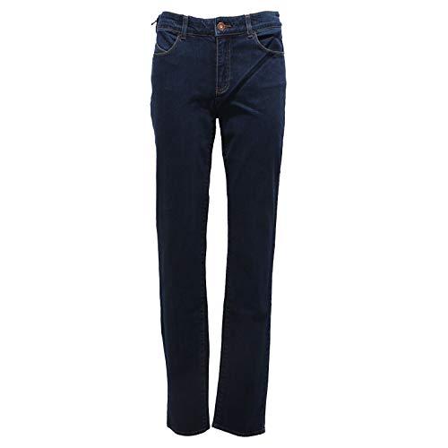 Armani Donna Fit Woman Blu Jeans J28 6670y Denim Slim Trouser Blue rpr4Eqw