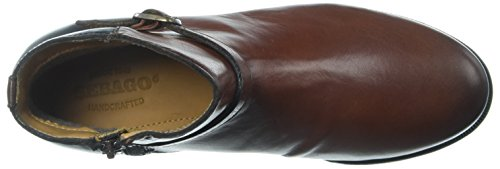 Sebago Damen Plaza Ankle Boot Chelsea Braun (Cognac/black Leather)