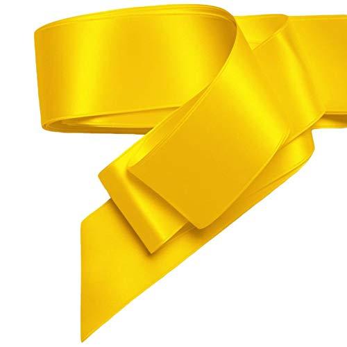 - 2 Inch Satin Ribbon Style 3550, Sunflower