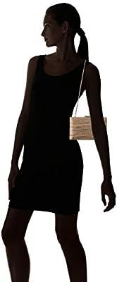 Calvin Klein Novelty Woven Straw Box Clutch
