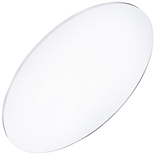 8.5 inch Diameter Acrylic Round Disc .08 inches Thick - Great for Serving Baked Goods