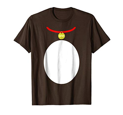 Mens Puppy Dog Halloween Costume Tee (kids and adults) XL Brown
