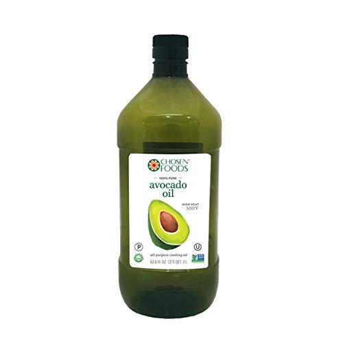 Chosen Foods 100% Pure Avocado Oil 2 L in BPA Free Food Grade Plastic Bottle