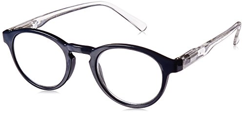 Peepers Unisex-Adult That's The Ticket 345300 Round Reading Glasses, (Adult Ticket)