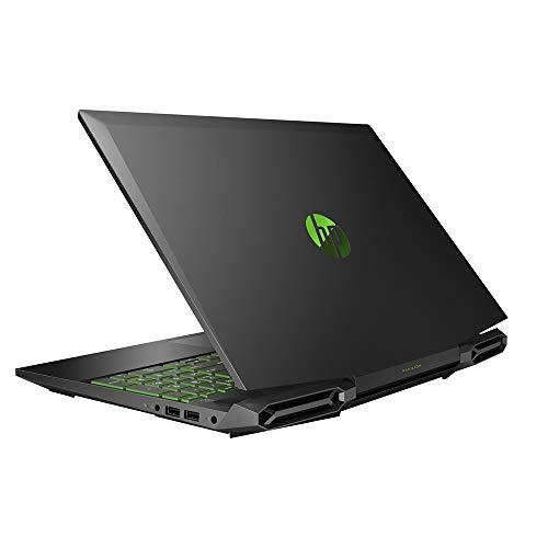 "2020 HP Pavilion 15.6"" FHD Gaming Laptop Computer, 9th Gen Intel Core i5-9300H, 8GB RAM, 256GB PCIe SSD, Backlit Keyboard, B&O Audio, HD Webcam, NVIDIA GeForce GTX 1650, Win 10, Black, 32GB USB Card"