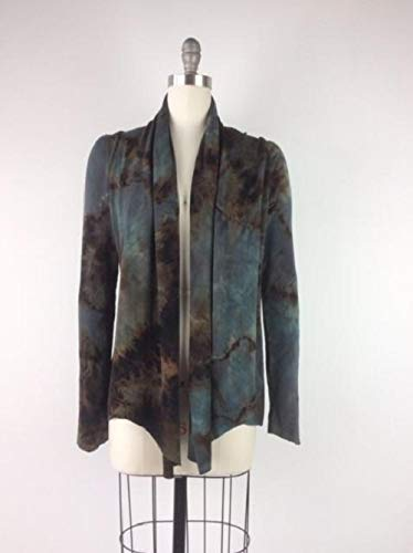 - Moon Tide Dyers Artsy Handmade Art to Wear Hand-dyed Tie Dye Slow Fashion Jacket Abbie Mourning Dove Tangle