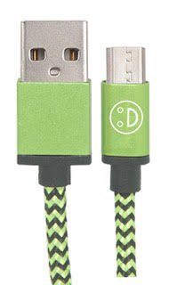 (3-PACK) HEAVY DUTY FAST CHARGING MICRO USB CABLE, 10FT, 6FT, 3FT, NYLON BRAIDED TANGLE-FREE FAST CHARGER DATA COLORFUL CABLE WITH METAL CONNECTORS FOR SAMSUNG GALAXY AND OTHER ANDROID DEVICES (green)