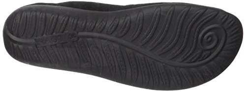 Black Flat Black Women's Madras Matai Jane Leather Naot Mary Suede 8BqIv