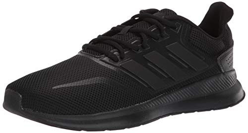 (adidas Men's Falcon, Black, 12.5 M US)
