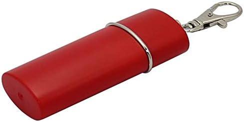 Portable Mini Pocket Ashtray ABS Ash Holder Smoking Ash Tray w//Keychain