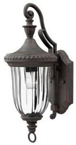 Hinkley 1240MN Traditional One Light Wall Mount from Oxford collection in (Hinkley Oxford Collection)