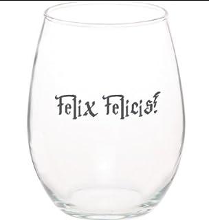 Felix Felicis Harry Potter Funny Unique Stemless 15 Oz Wine Glass