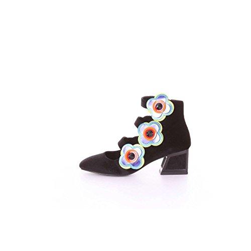 MACONIE tacón Zapatos UNA Negro Mujer KAT de P7wdxqPa