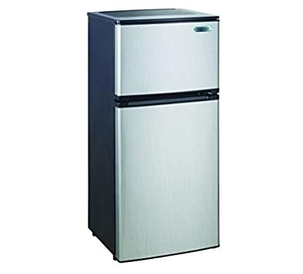 amazon com magic chef 4 3 cu ft mini refrigerator in stainless