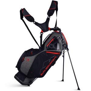 Sun Moutain Golf 2019 4.5 LS 14-Way Stand Golf Bag IRON-BLACK-RED (Iron-Black-Red)