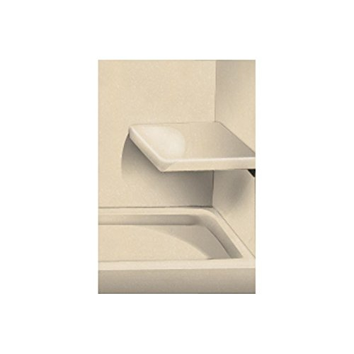 Transolid RSS2412-86 12 x 24 Solid Surface Wall-Mount Rectangular Shower Seat in Sea Shore