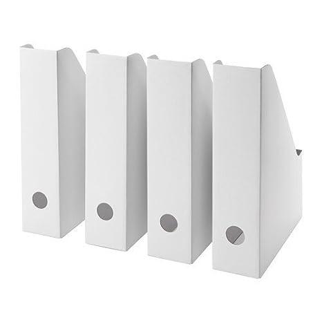 Ikea Fluns Magazine File White Set Of 25