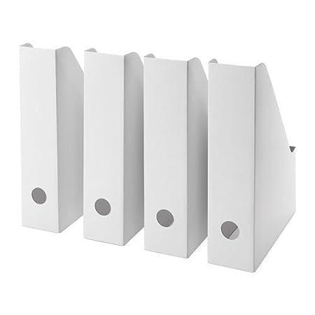 Set of 12 Ikea Fluns Magazine file White by Ikea
