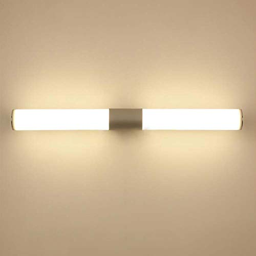 (12WLED Wall lamp Aluminum Acrylic IP55 Wall lamp Bathroom Wall lamp Mirror Makeup Mirror Lighting Warm White [Energy Efficiency Grade A ++] 16W /)