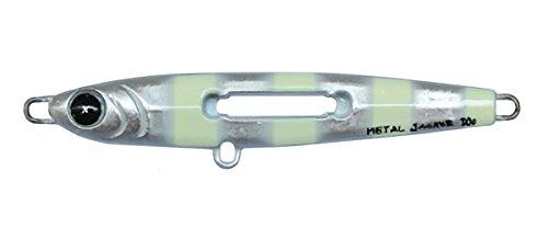 ルミカ(日本化学発光) メタルジグ ルアー エクストラーダ メタルジャッカー20g シルバーゼブラの商品画像