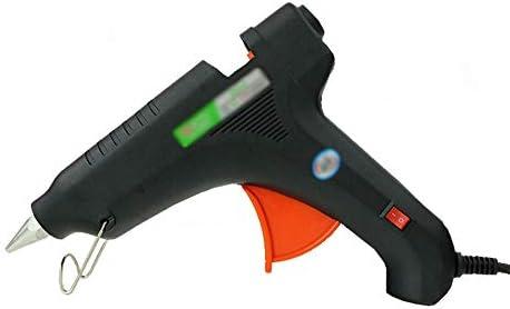 CHenXin- 40の接着剤が付いているホットメルトの接着剤銃は60/80 / 100W複数の電源 - DIYの工芸品の装飾、家の速い修理、木工、休日の装飾(黒)に適しています ホットグルーガン (Color : 80W)