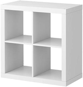 Ikea Expedit Etagere 4 Cases Blanc 79 X 79 X 39 Cm Amazon Fr