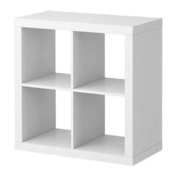 Bücherregal expedit  EXPEDIT Regal (4 Fächer) WEIß, 79x79x39cm: Amazon.de: Küche & Haushalt