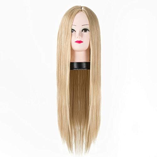 Synthetic Long Hair Straight Blonde Wigs Heat Resistant Cartoon Role Cos-play Costume -