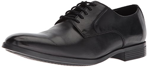 CLARKS Men's Conwell Plain Oxford, Black Leather, 11 M - Shoes Clarks Dress