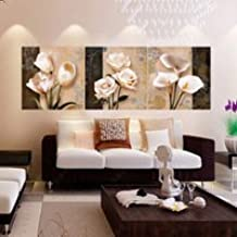 3 Panel Hd Print Picture Cheap Modern For Living Room Wall Art Canvas Prints Cuadros Decoracion Flores Modular Painting