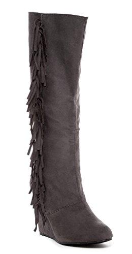 Womens 14 Eye Zip Boot - 5