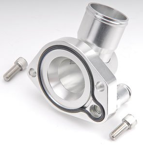 CSR Performance Products 9110AN16C Clear Swivel Thermostat Housing for Small Block Ford