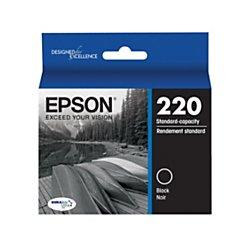 Epson DURABrite Ultra Ink T220 Ink Cartridge - Black -  T220120