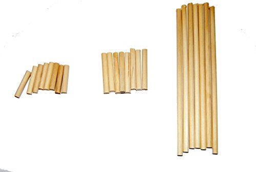 Perfect Stix Dowel Assortment-250ct Mini Wooden Kit (Pack of 250) ()