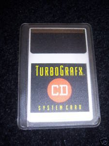Turbo Grafx (Turbografx) CD System Card