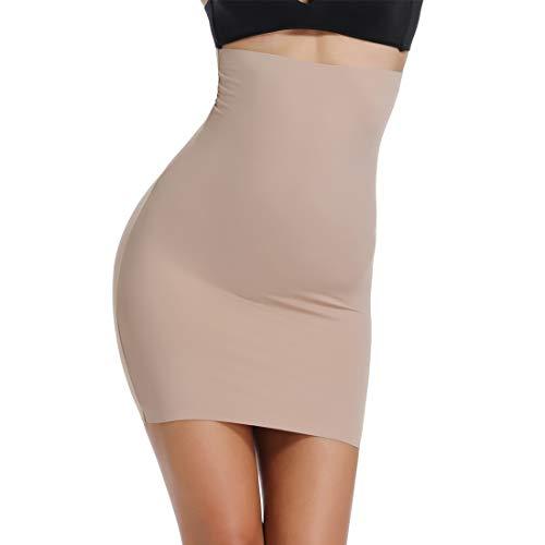 c5e5daaedabc4 Joyshaper Slimming Half Slips for Under Dresses Seamless High Waist Half  Slip Shapewear for Women
