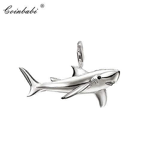 Pendant Shark 925 Sterling Silver Gift for Women and Men Gift Thomas Style Pendant Tms Silver Factory Price Pendants