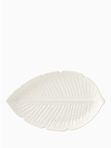 Kate Spade Canon Street 18 Inches Leaf Large Platter]()
