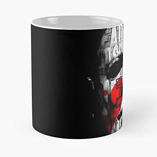 Michael Myers Mask Halloween - Handmade Funny 11oz Mug Best Holidays Gifts For Men Women Friends. ()
