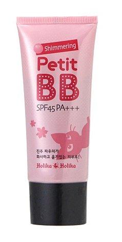 KOREAN COSMETICS, ENPRANI_ HolikaHolika, Shimmering Petite BB Cream SPF45/PA+++ 30ml (portable, pearl powder, skin tone improvement, Hydrating, radiance)[001KR]