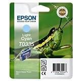 Epson T0335 Cartouche d'encre d'origine 1 x cyan clair 440 pages