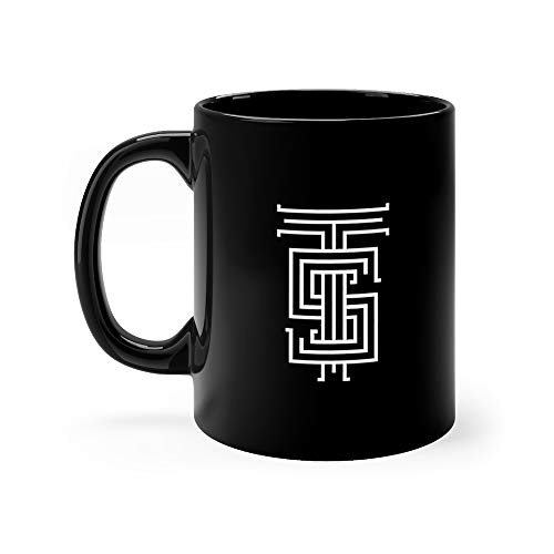 Letter 2 Medieval (Hipster Logo Ts Combination Two Letters Tea Mug 11 Oz Ceramic)