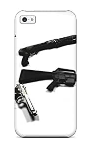 New Style JeffreySCovey Hard Case Cover For Iphone 5c- Gun