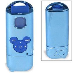 Disney Mix Stick MP3 Player - Ice Blue Chrome
