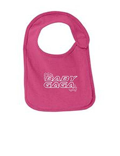 - BABY GAGA Funny Infant Jersey Bib Sangria One Size