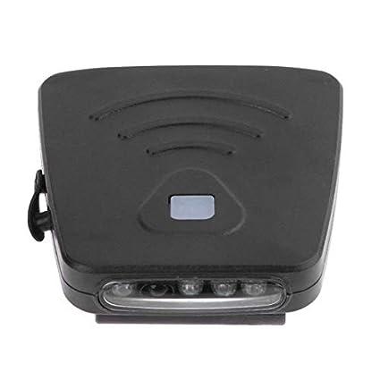 LED Cap Hat USB Rechargeable Head Light Lamp Headlamp IR Induction Flashlight