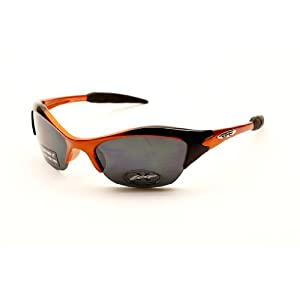 Kd55 Kids Child Girls Boys (3-7yr) Sport Sunglasses Cycling Baseball (orange, gradient)