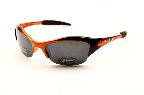Orange Gradient Frames - Kd55 Kids Child Girls Boys (3-7yr) Sport Sunglasses Cycling Baseball (orange, gradient)