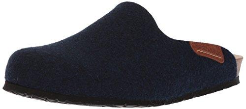 Mephisto Kvinna Yin Slide Sandal Marinblå