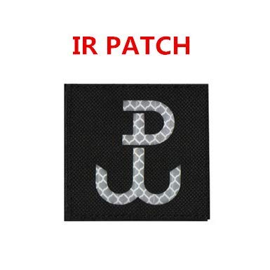 Special Forces GROM SWAT Polish Special Force GROM Nnit IR Military Patch Fabric Embroidered Badges Patch Tactical Stickers for Clothes with Hook & Loop]()
